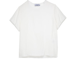 LILAR Paris - T-shirt écru col rond homme