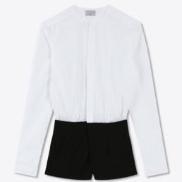 Combishort avec chemise sans col SUN |Boutique LILAR Paris