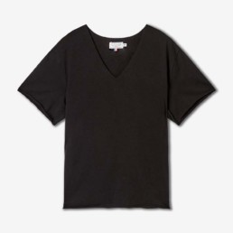 LILAR Paris - T-shirt mixte noir BIO