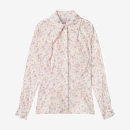 LILAR Paris - Chemise seventies à fleurs femme