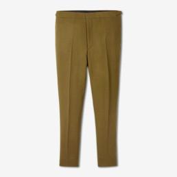 LILAR Paris – Ensemble veste croisée et pantalon slim kaki homme