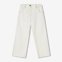 LILAR Paris - Jean blanc coupe flare femm