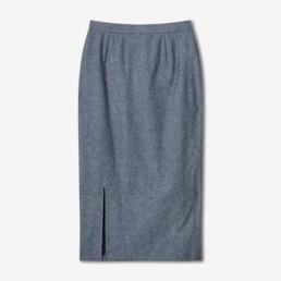 Jupe crayon en jean vintage - Boutique prêt-à-porter de luxe - LILAR Paris