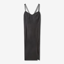 Robe crayon noire Dormeuil - Boutique prêt-à-porter de luxe - LILAR Paris