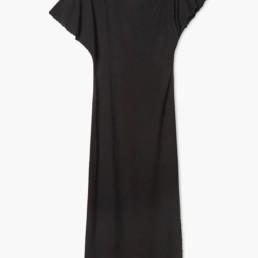 Robe maxi noire en viscose - Boutique prêt-à-porter de luxe - LILAR Paris