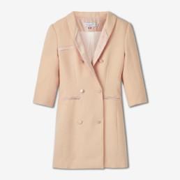 Robe tailleur nude - Boutique prêt-à-porter de luxe - LILAR Paris