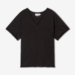 LILAR Paris - T-shirt unisexe noir BIO