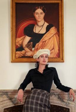 Chapellerie en ligne - Boutique de chapeaux et prêt à porter de luxe à Paris - Béret écru femme LILAR